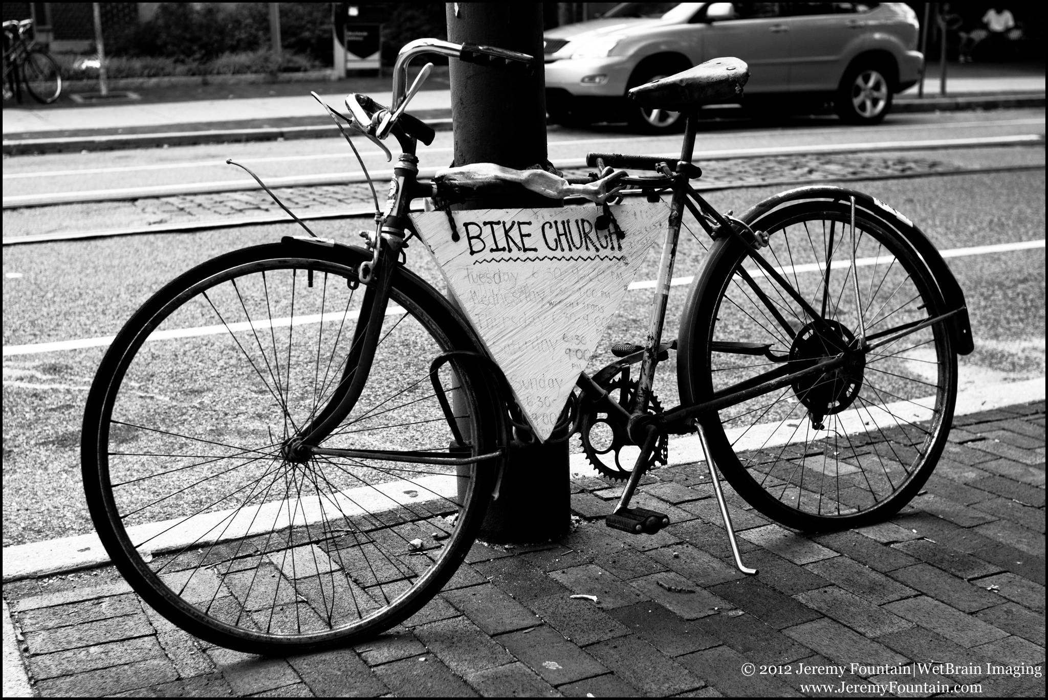 Bicycle, Photo by Jeremy Fountain
