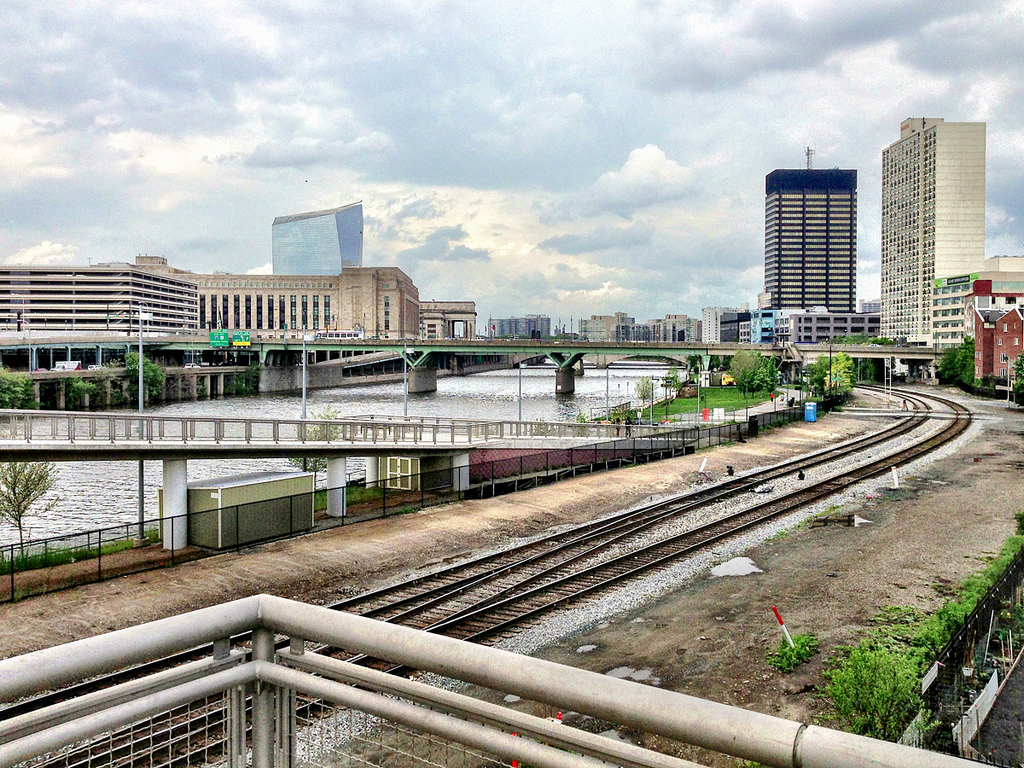 Center City CSX Tracks, Photo by Blog King