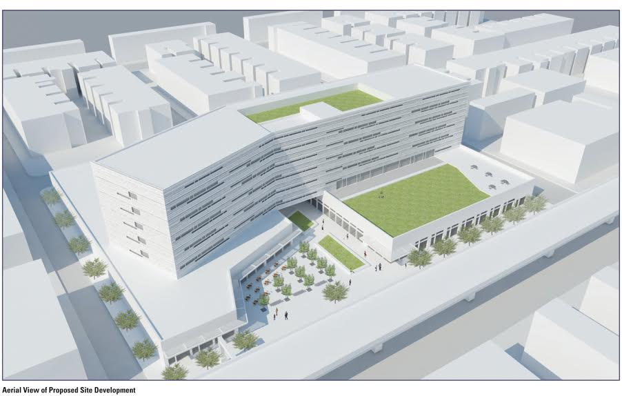 Conceptual rendering of mixed-use development at 59th and Market | Philadelphia City Planning Commission