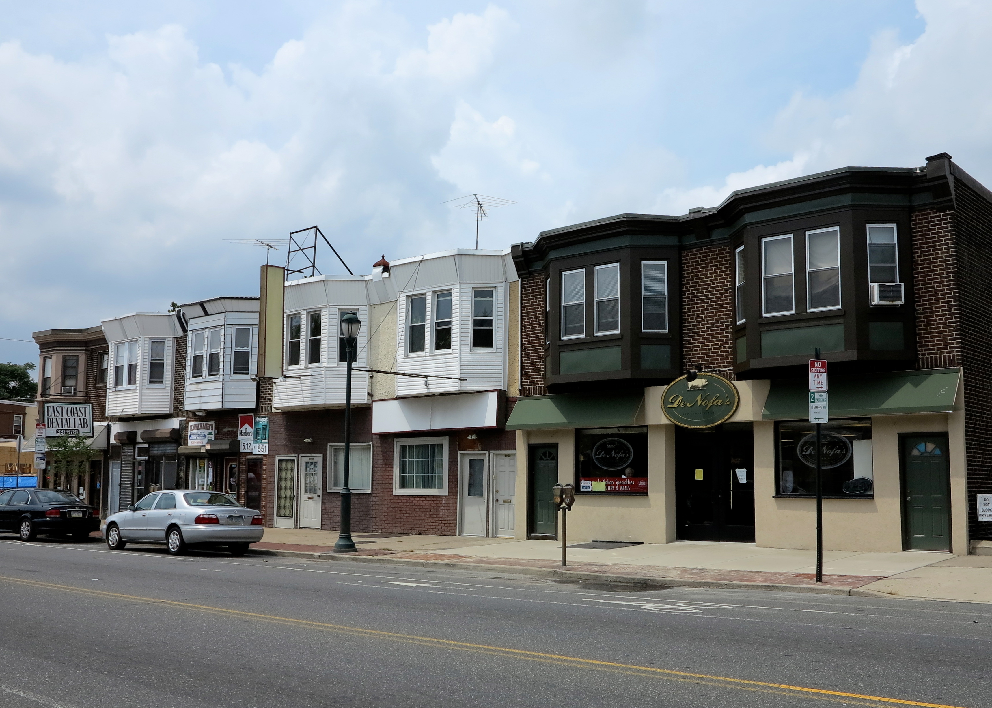 Both East Cost Dental Lab (6936 Torresdale) and Kavanagh's Tobacco (6938 Torresdale) next door will be given distinctive facelifts this fall.