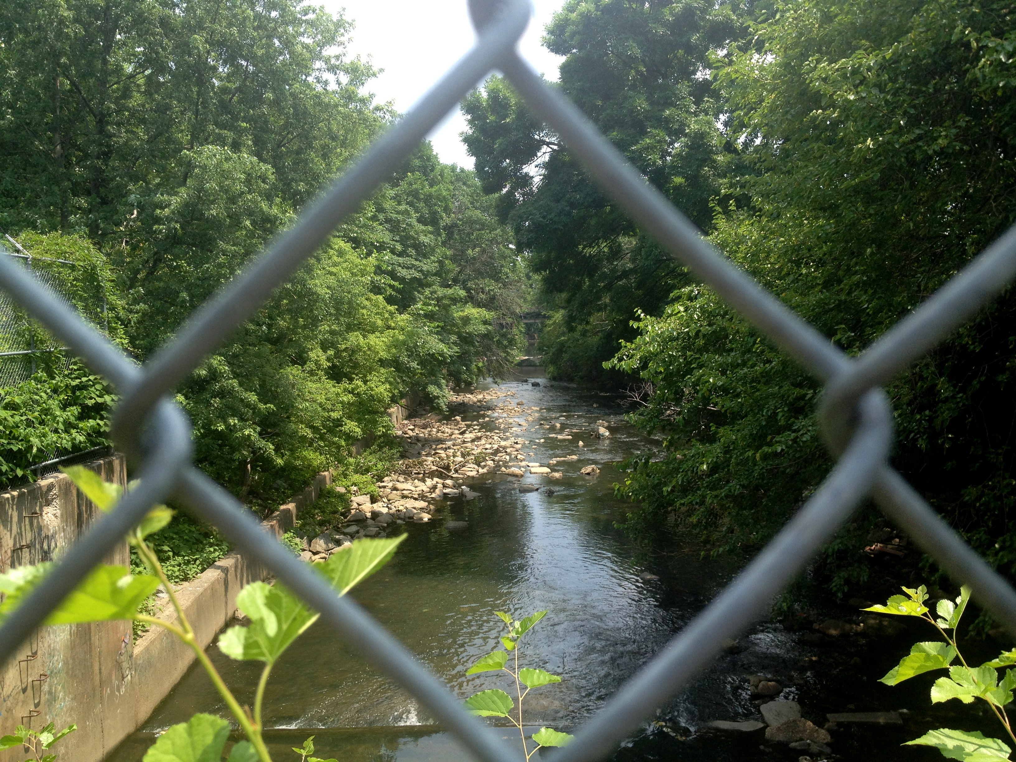 Frankford Creek Greenway, Photo courtesy of Philadelphia City Planning Commission