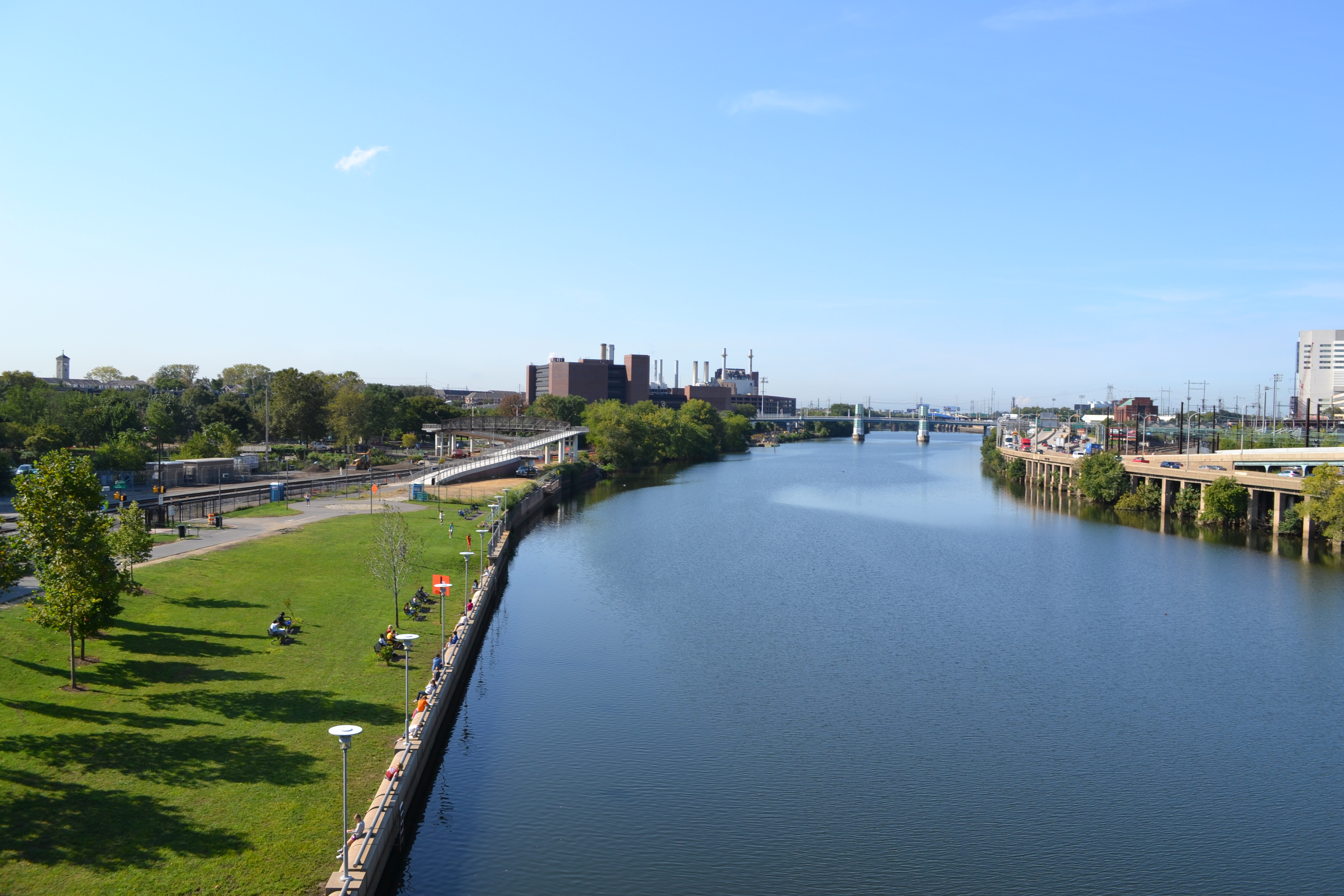 Work along the Schuylkill River will make an important section of the banks more accessible