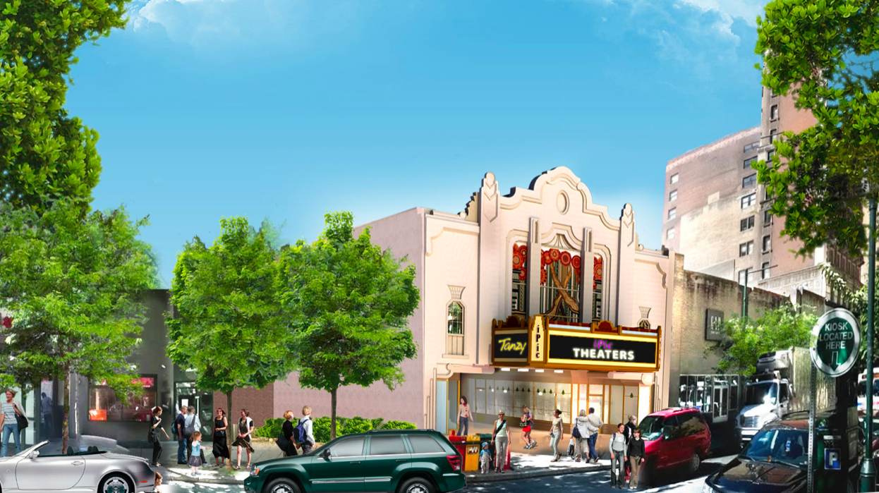 The iPic plan would restore the Boyd façade to its original design, according to the company proposal.