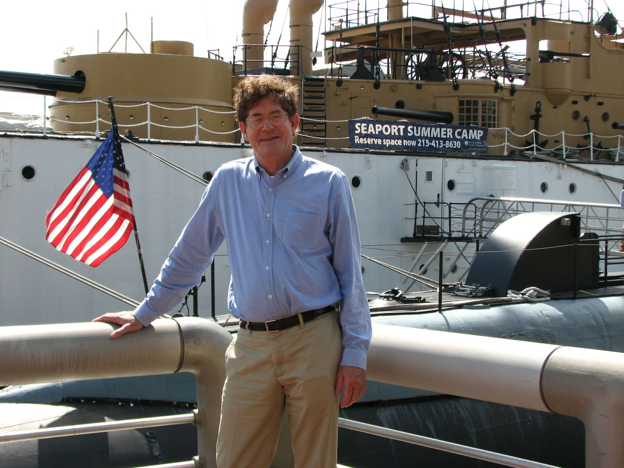 John Grady, CEO Seaport Museum
