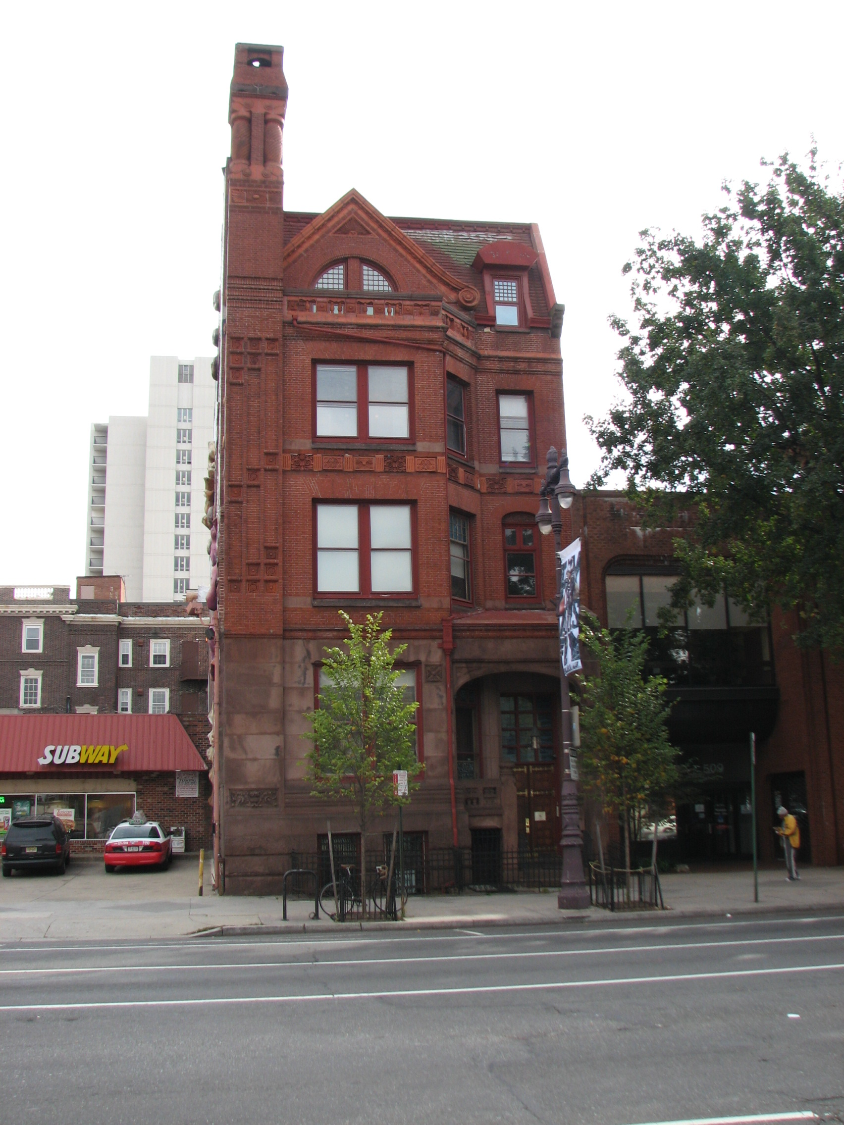 The J. Dundas Lippincott House, 507 S. Broad St., was designed by George T. Pearson.