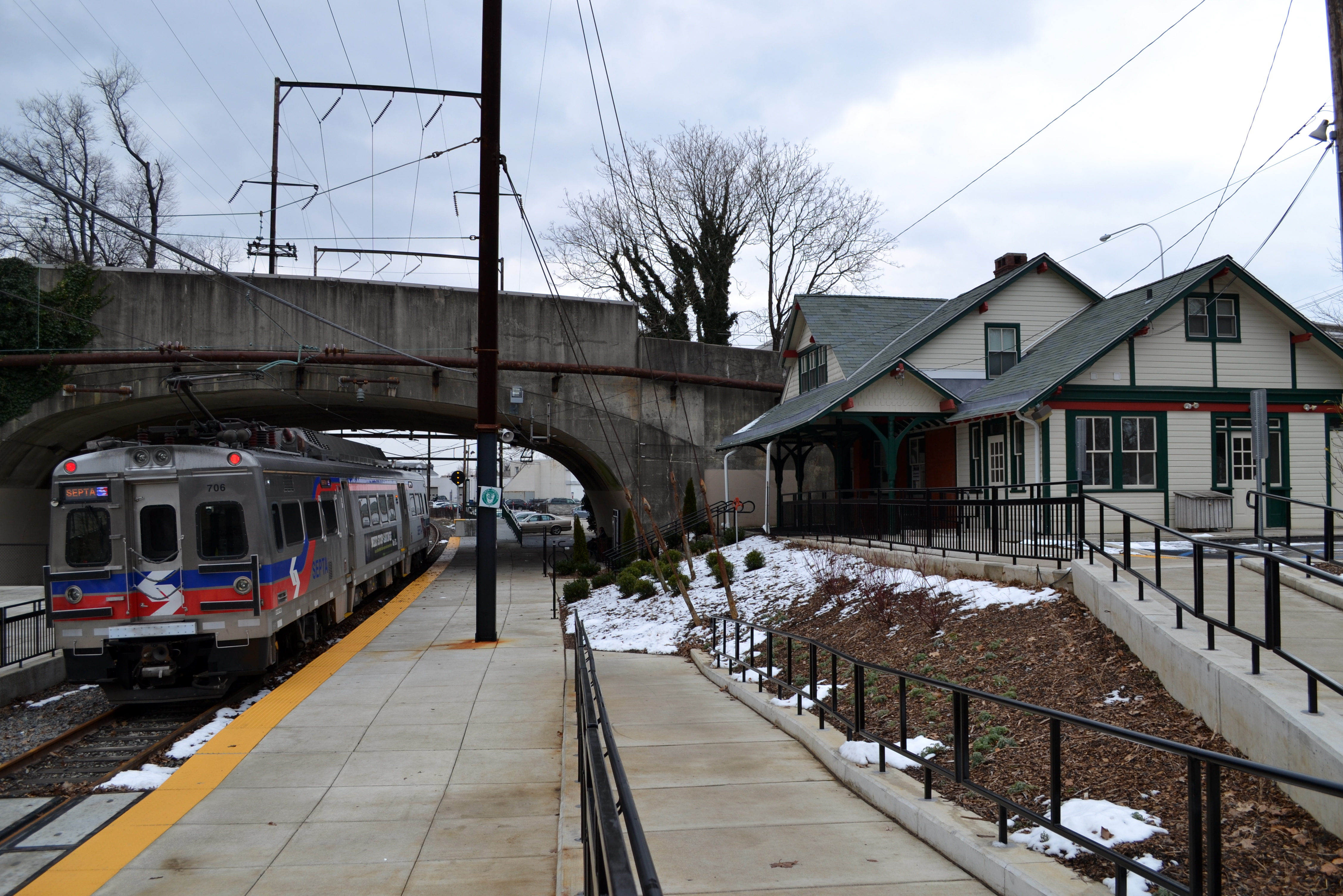 Lower Merion Historical Society nearing completion on Cynwyd Station historical renovation