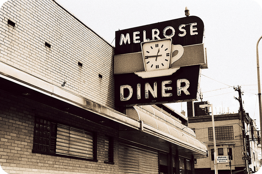 Melrose Diner | David Swift, EOTS Flickr group
