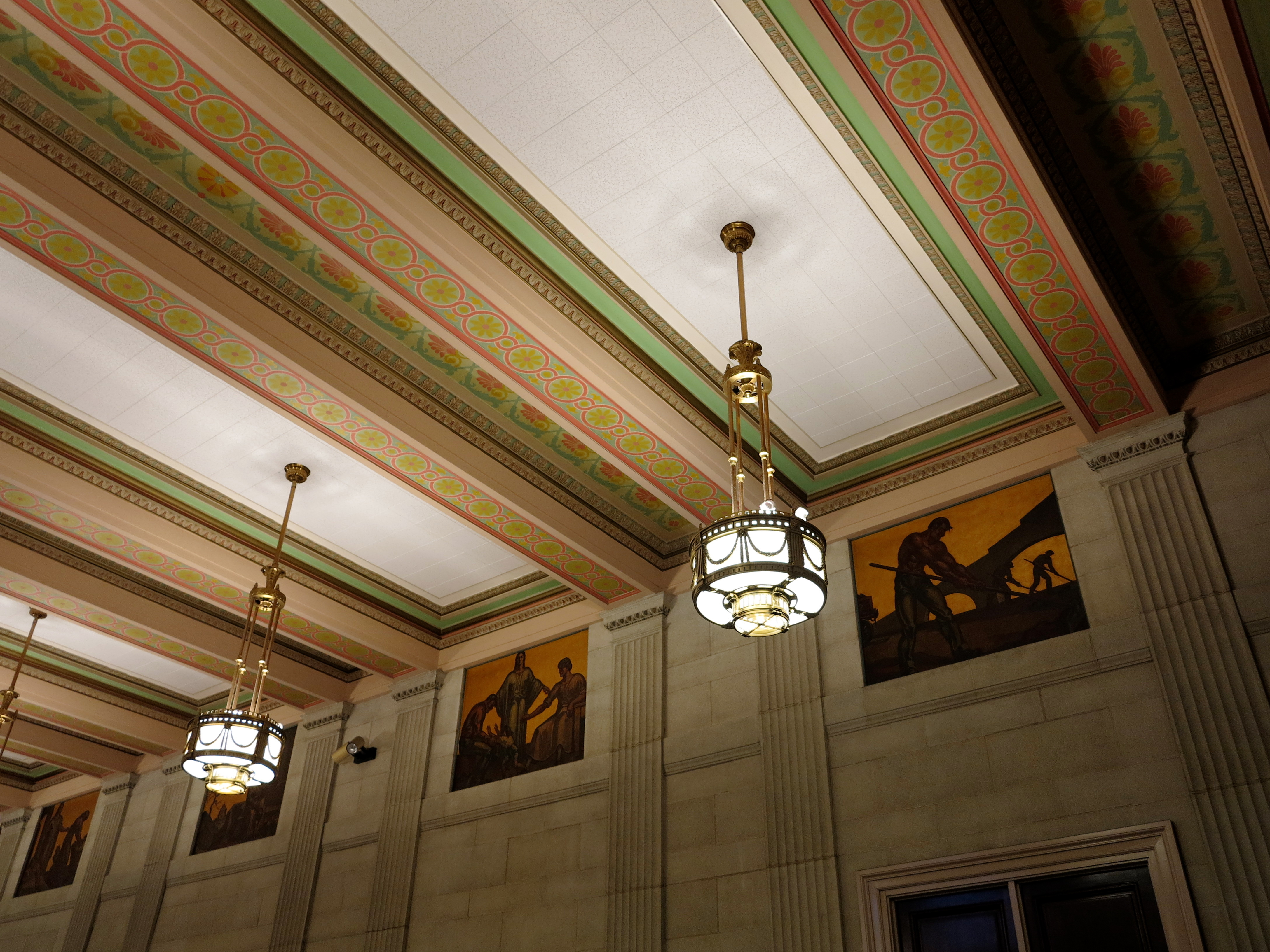 Murals by Vincent Maragliotti, East Waiting Room, Family Court