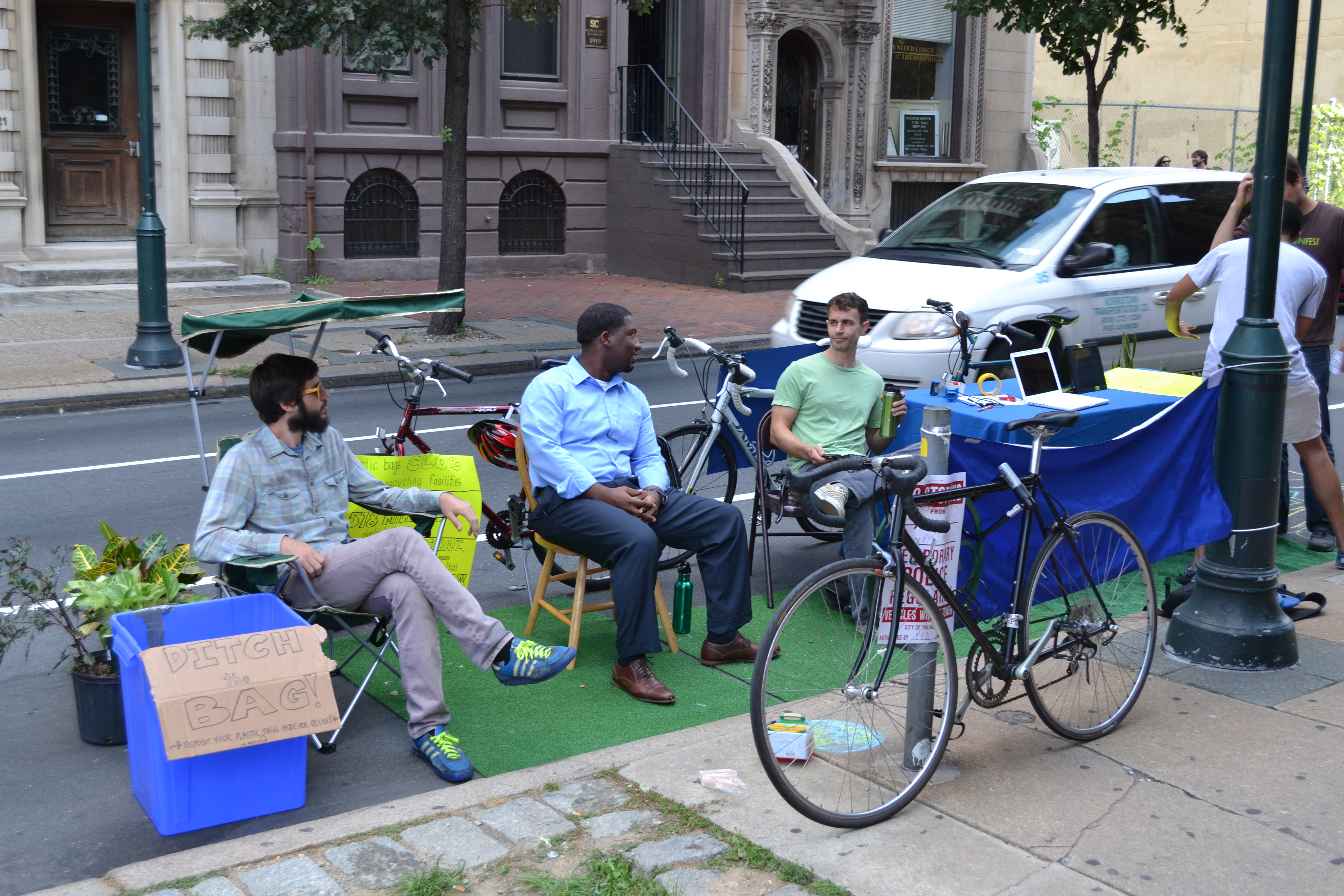 Park(ing) Day: Clean Air Council