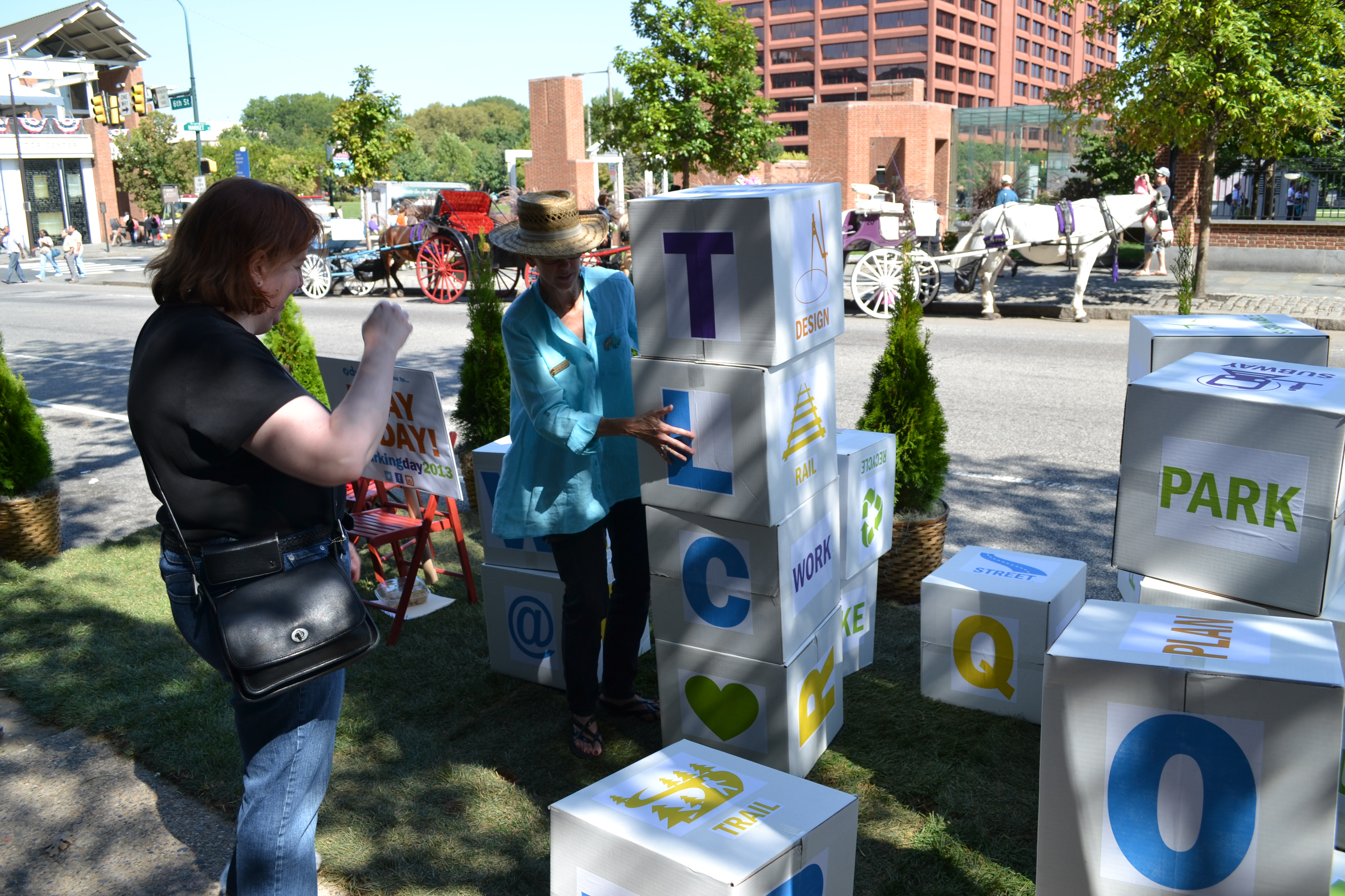 Park(ing) Day: Delaware Valley Regional Planning Commission