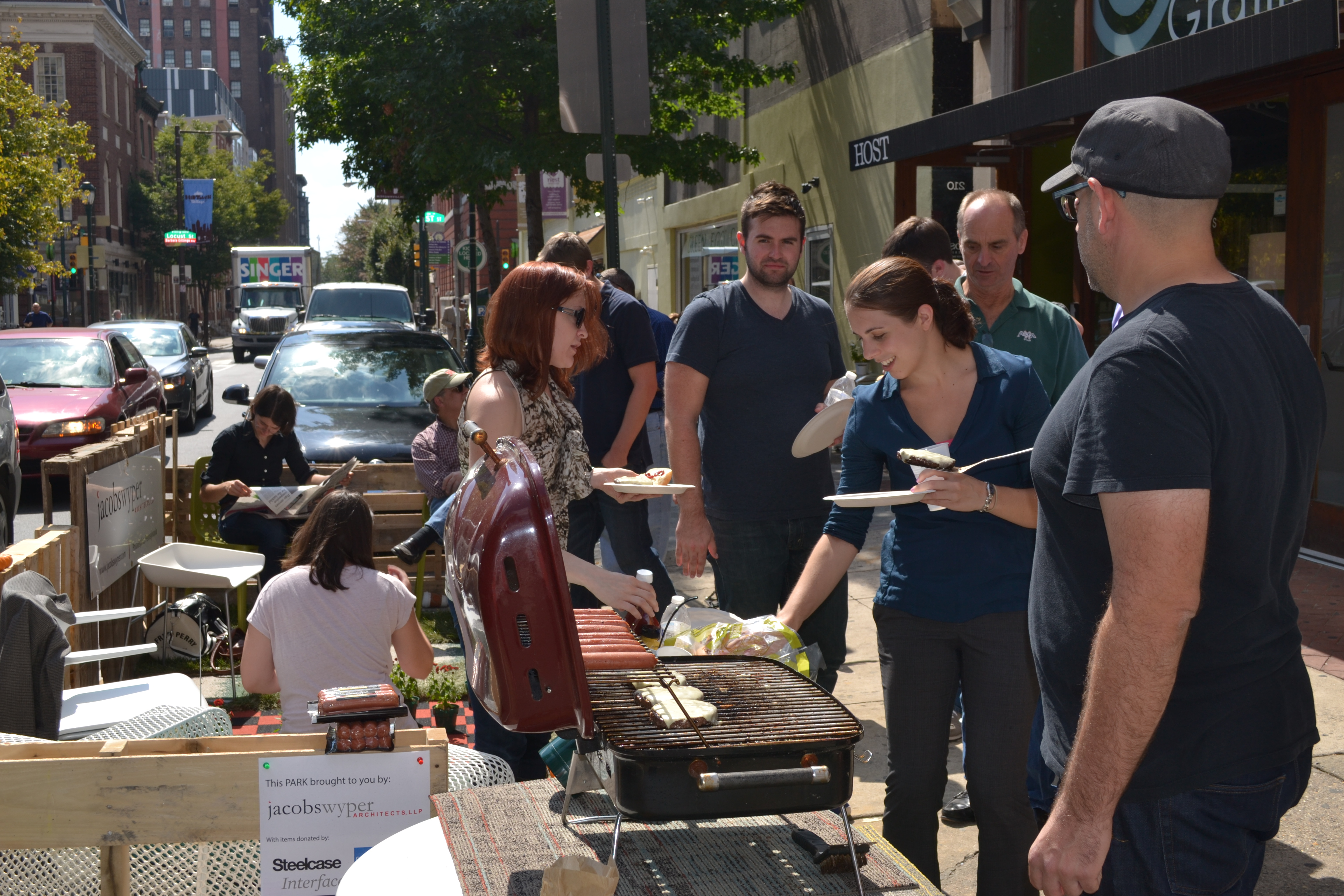 Park(ing) Day: Jacobs/Wyper Architects