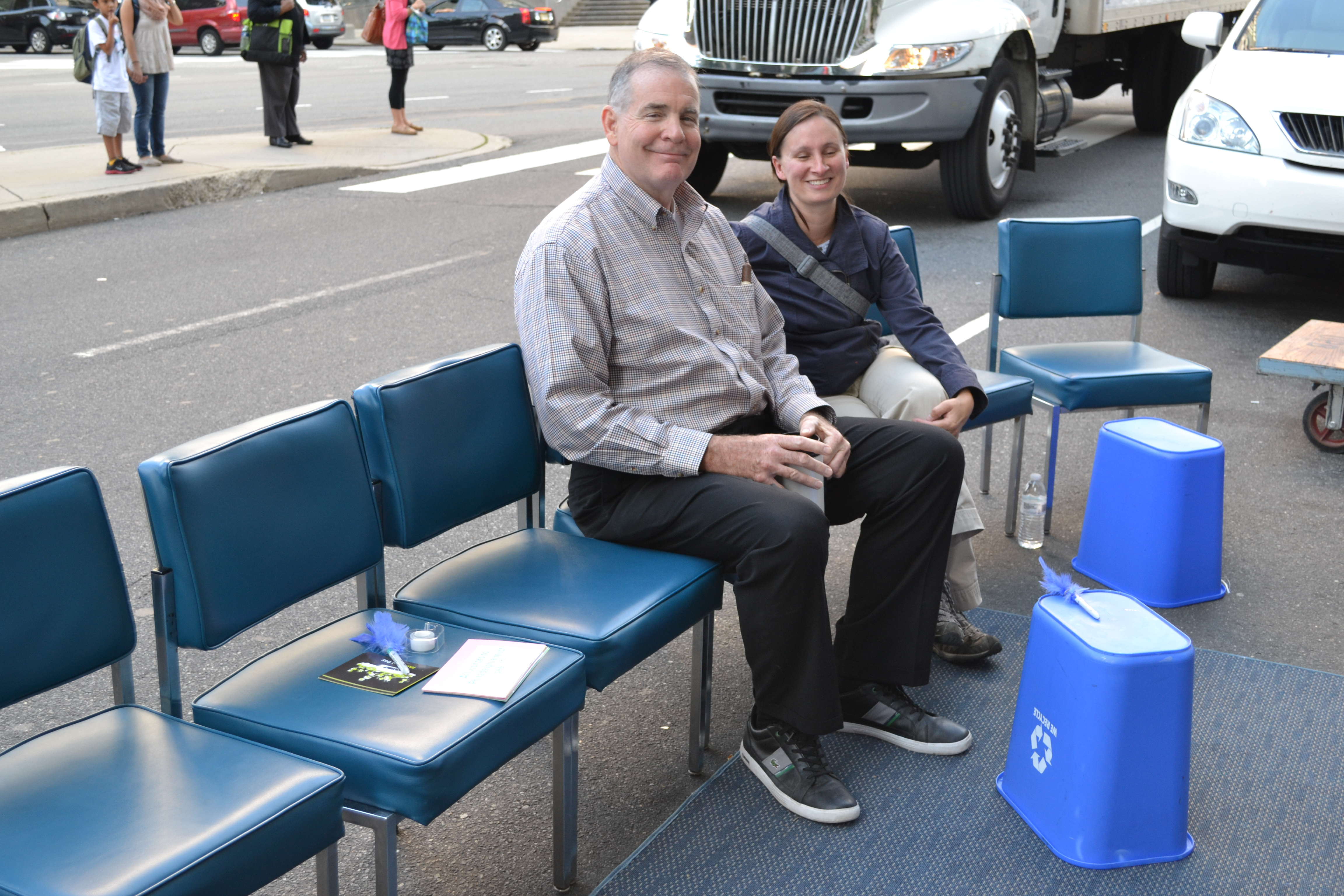 Park(ing) Day: Mayor's Office of Transportation and Utilities