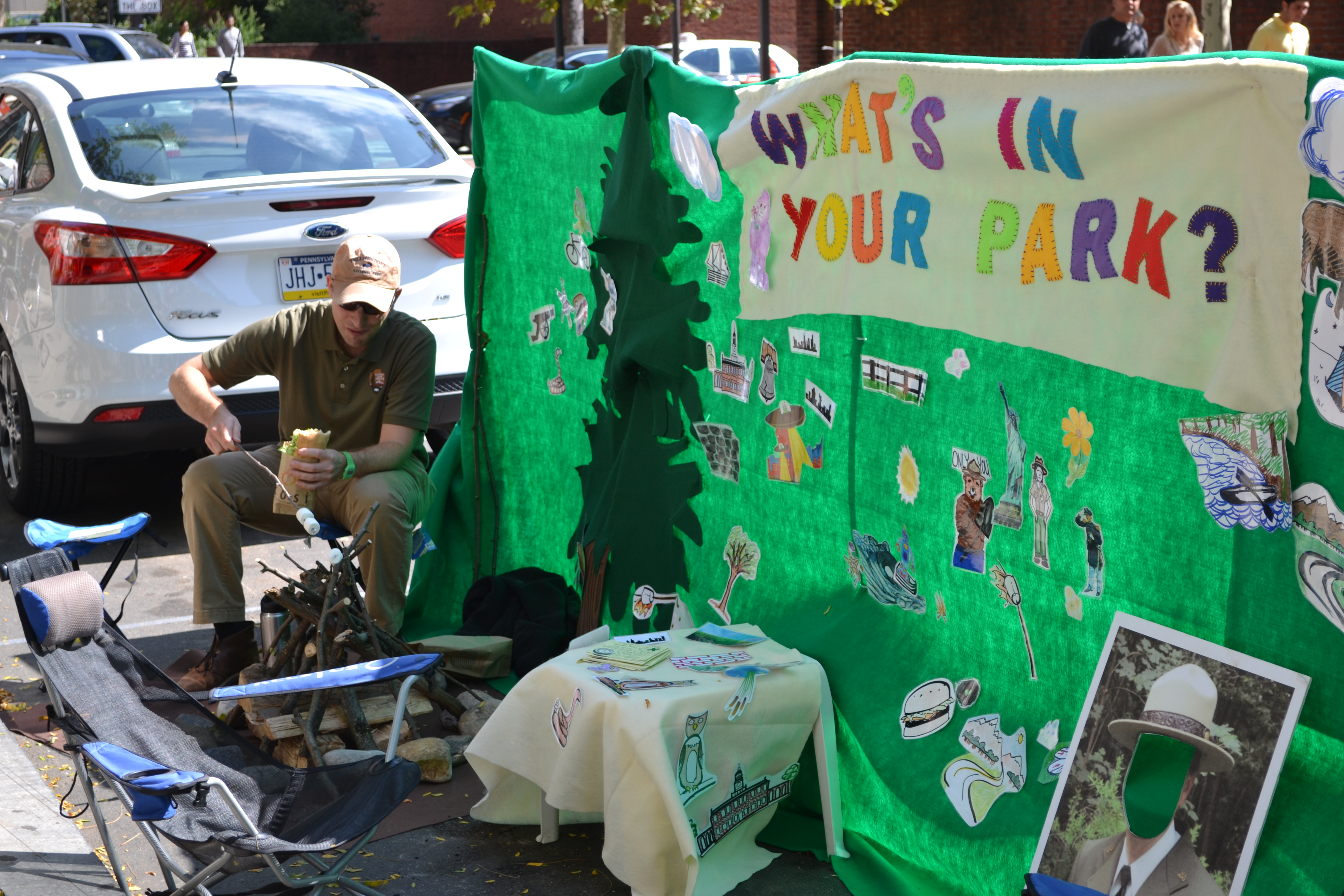 Park(ing) Day: National Park Service