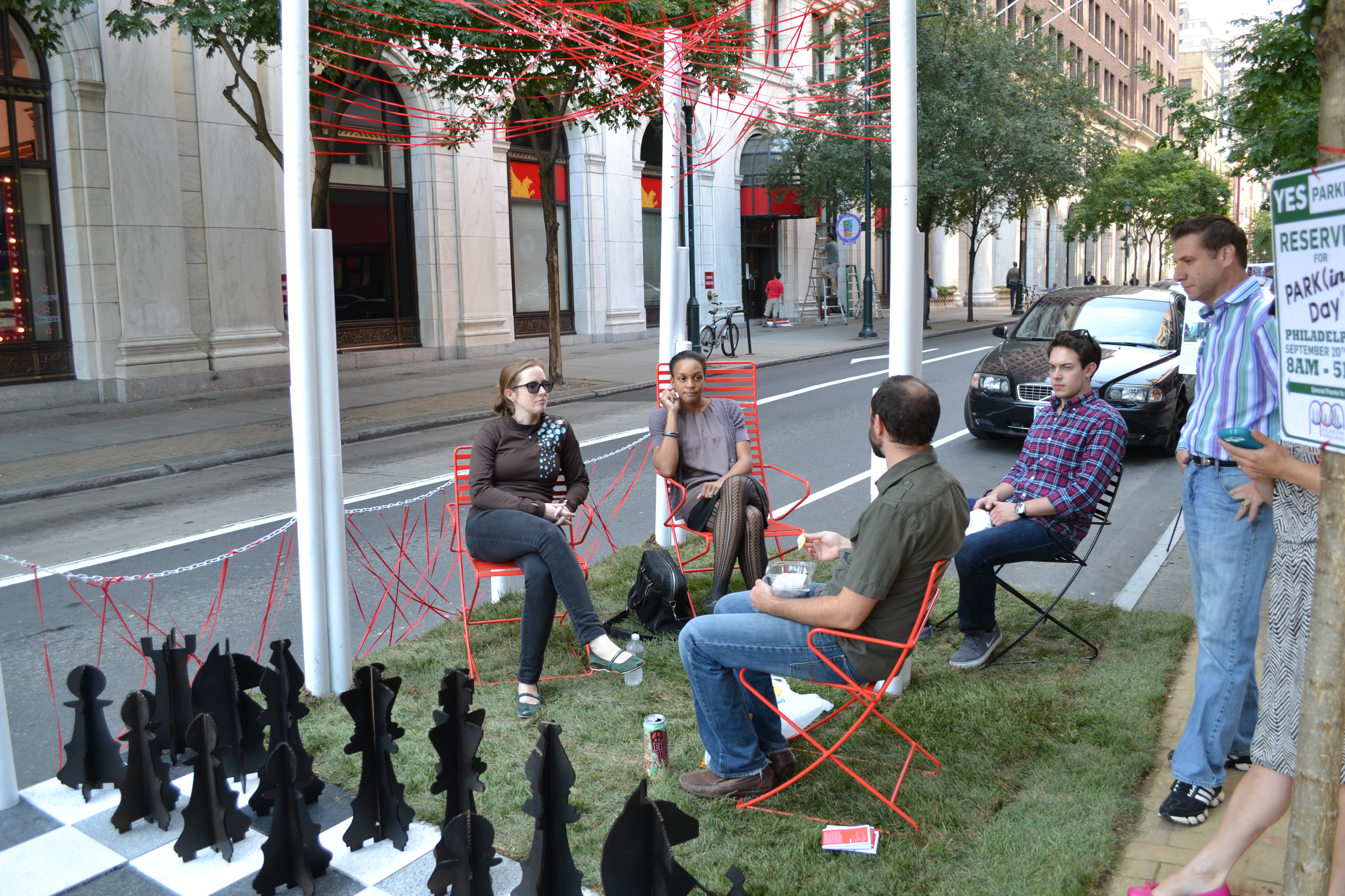 Park(ing) Day: OLIN