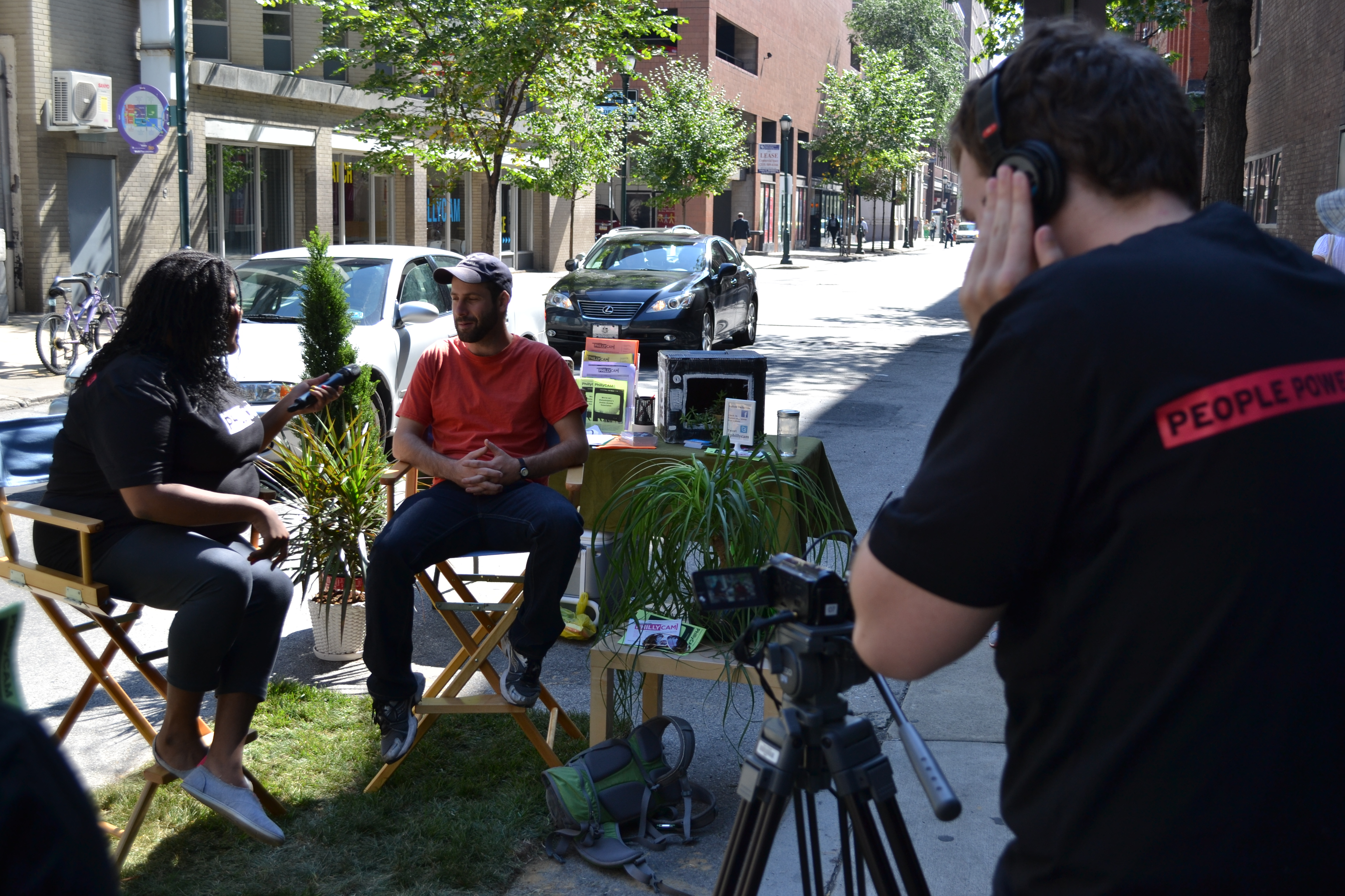 Park(ing) Day: PhillyCAM