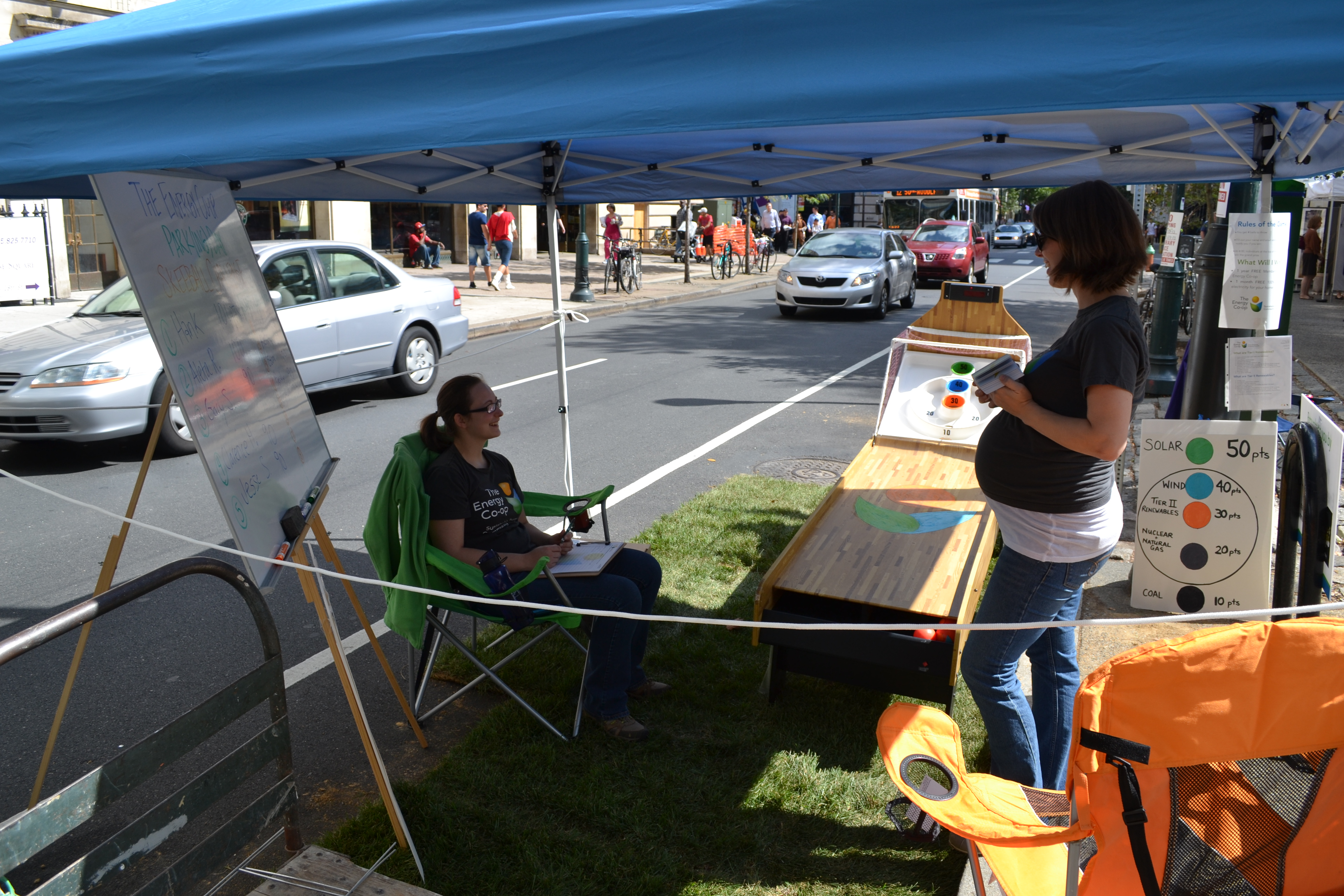 Park(ing) Day: The Energy Co-Op