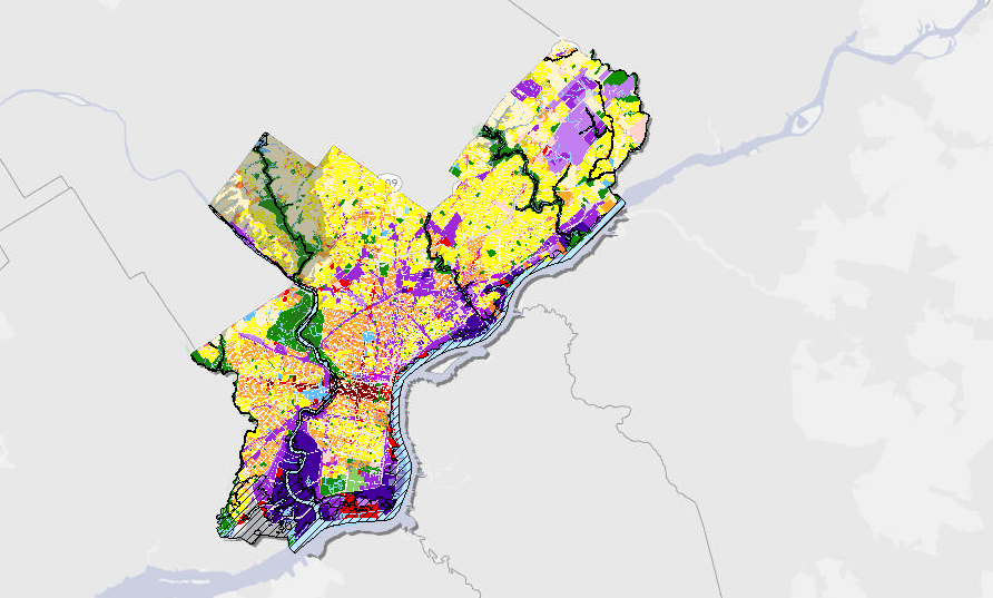 philadelphia zoning map