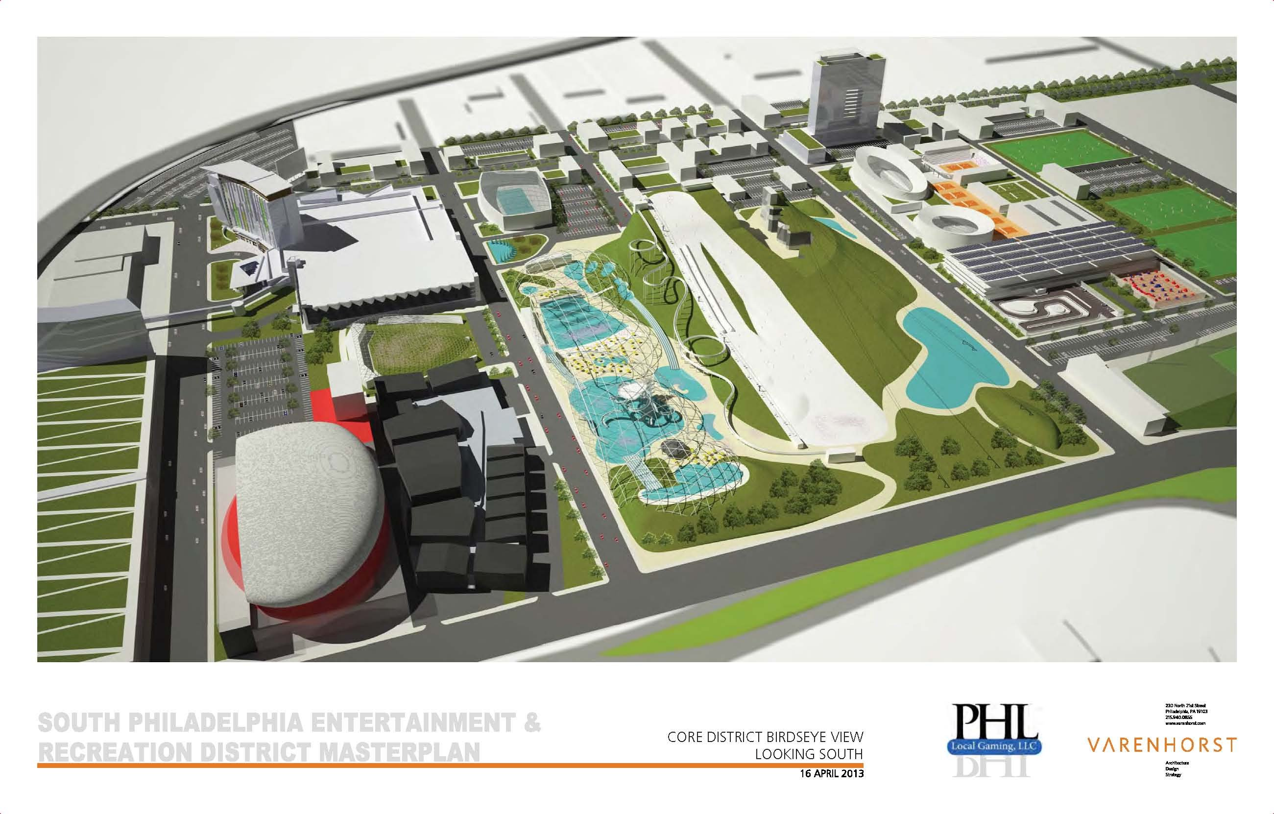 PHL Local Gaming's proposed entertainment and recreation district