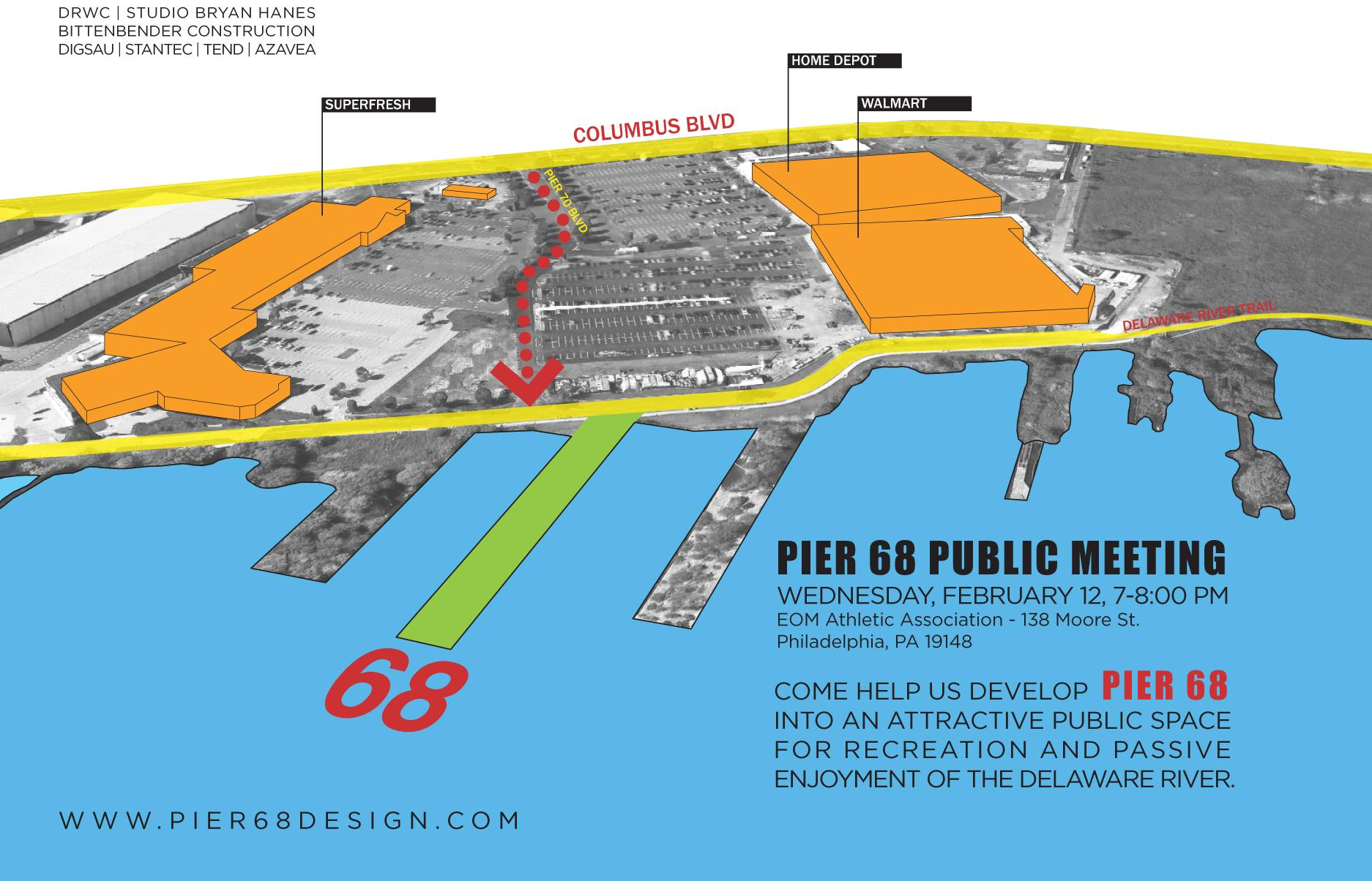 Pier 68 meeting information