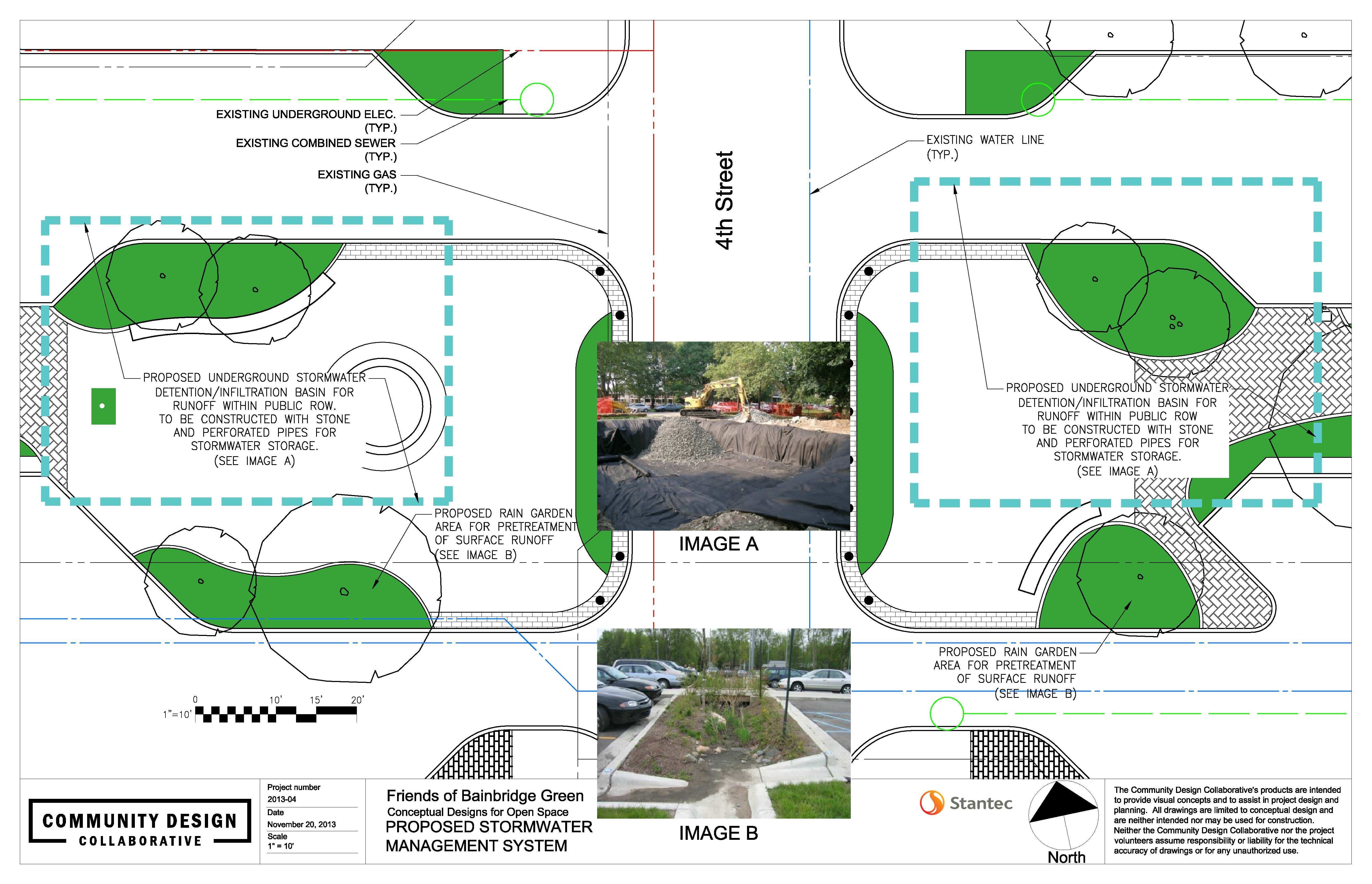 Plazas at 4th and Bainbridge present green infrastructure opportunities | Community Design Collaborative
