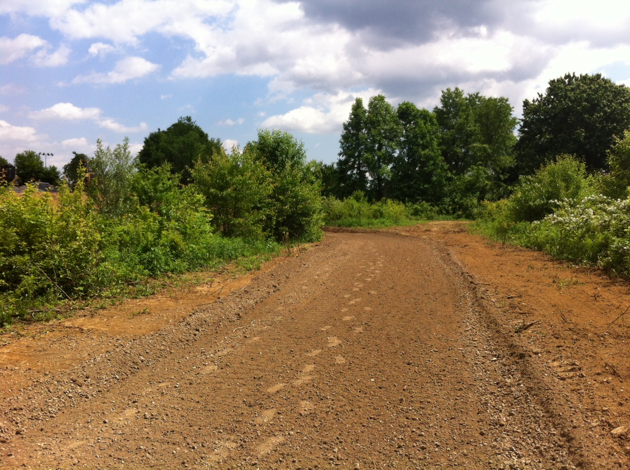 Progress on the Poquessing Creek Trail, Photo courtesy of Philadelphia Parks & Recreation