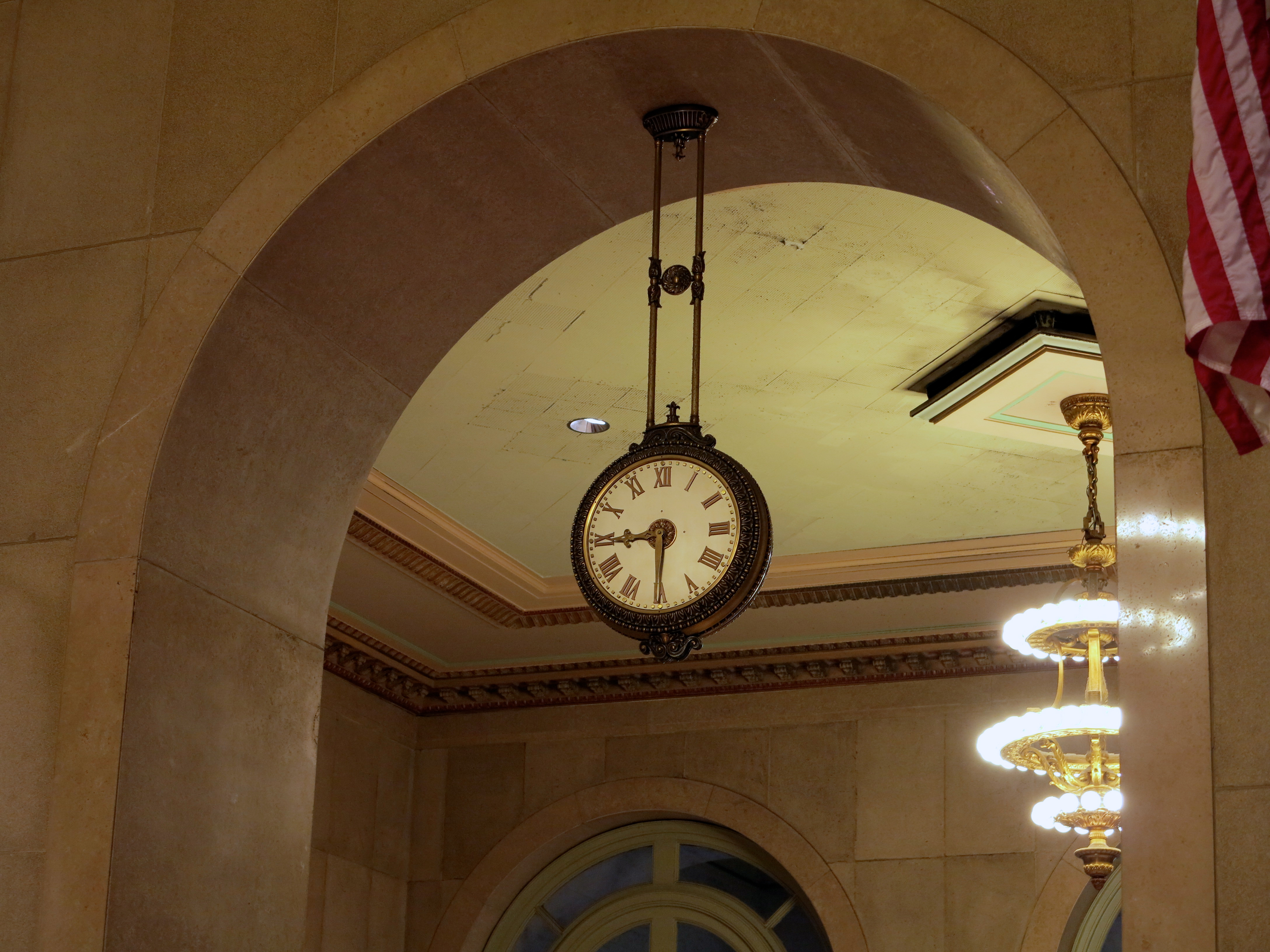 Reception Hall clock, Family Court