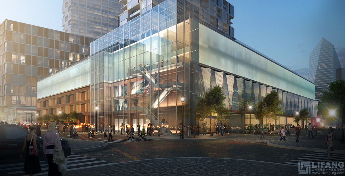 Rendering of proposed River Walk project, 23rd and Arch streets | NP International