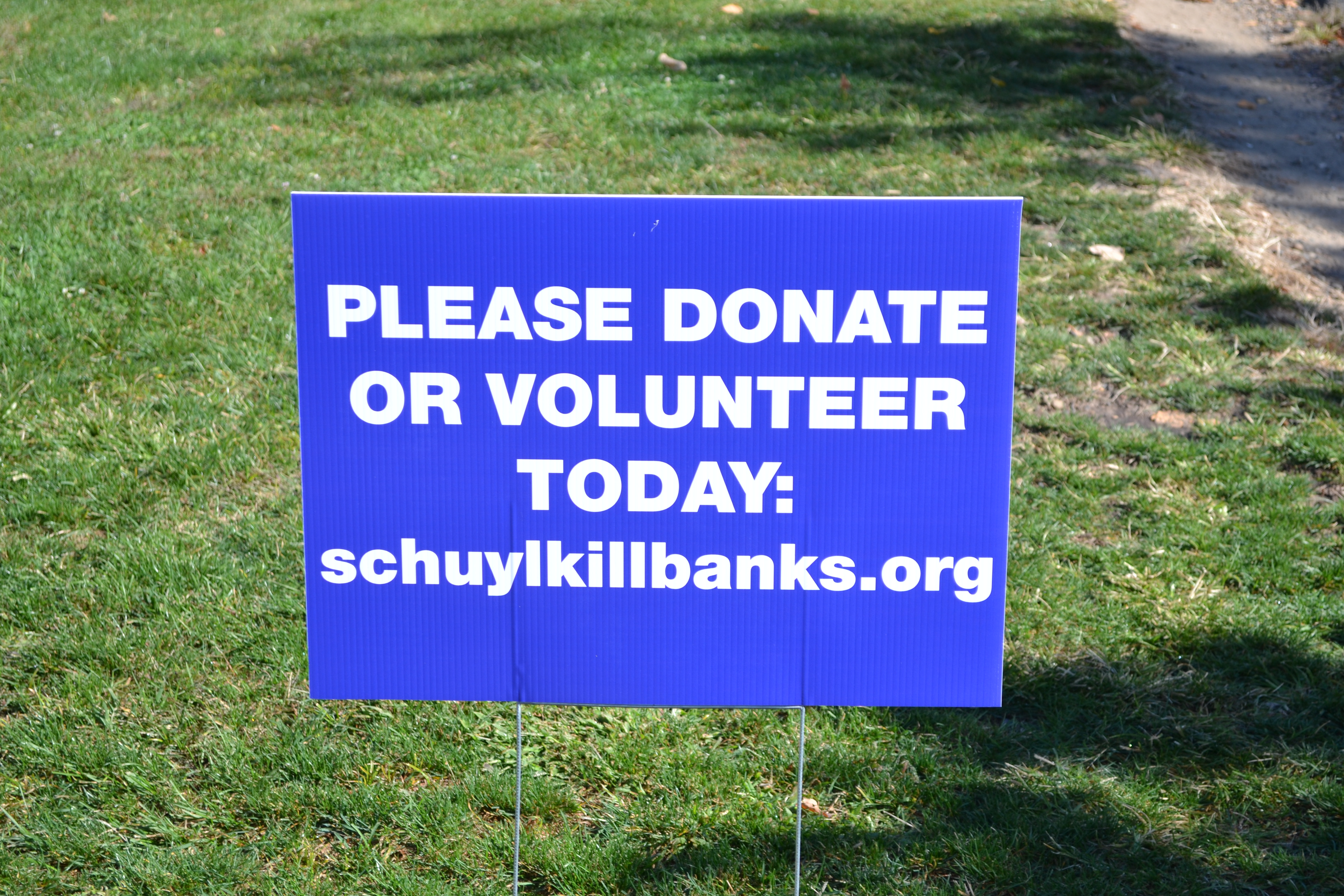 Schuylkill Banks' awareness, funding and volunteer campaign