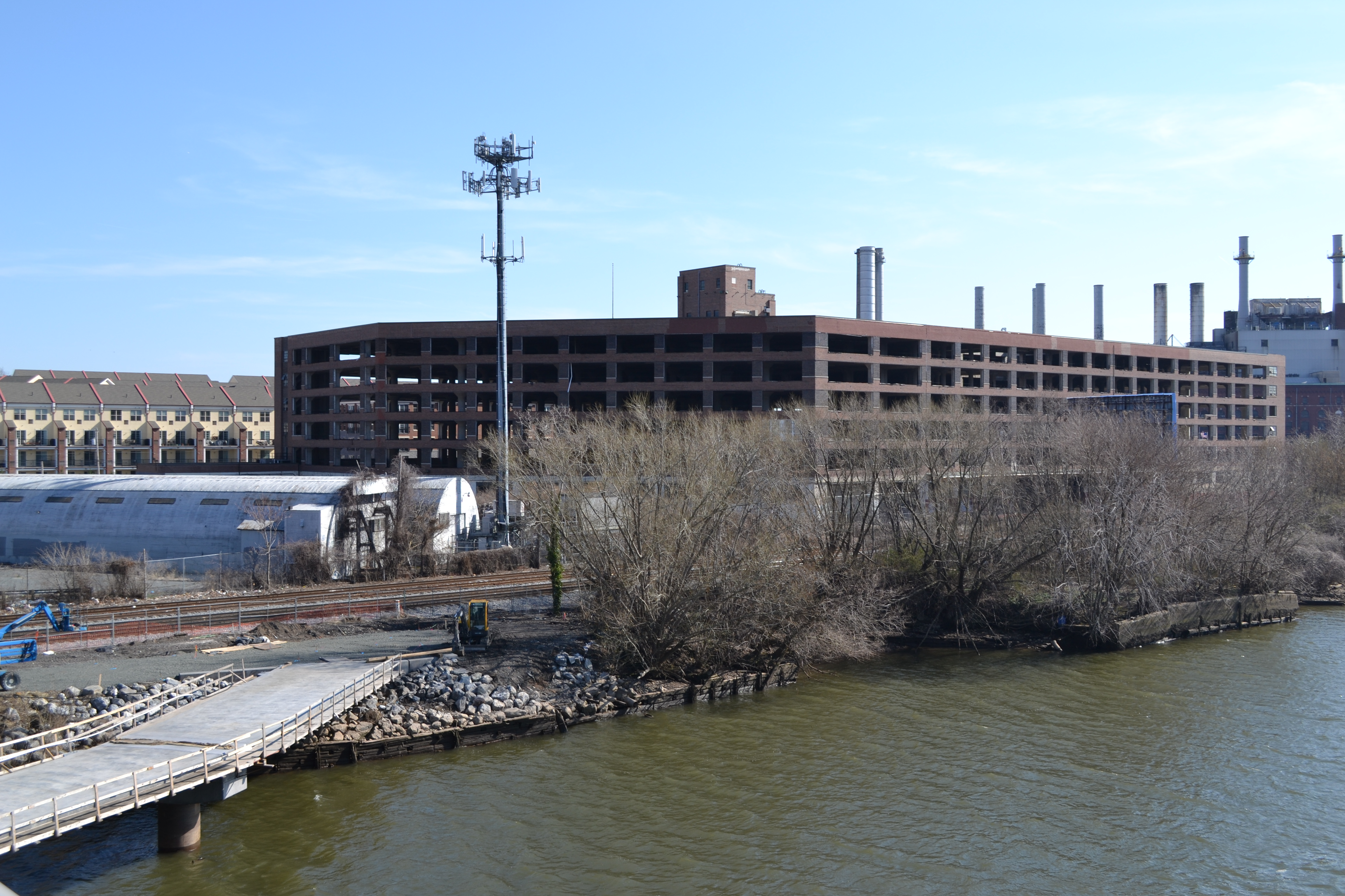 Schuylkill River Development Corporation has plans to extend the Schuylkill River Trail in front of the CHOP property