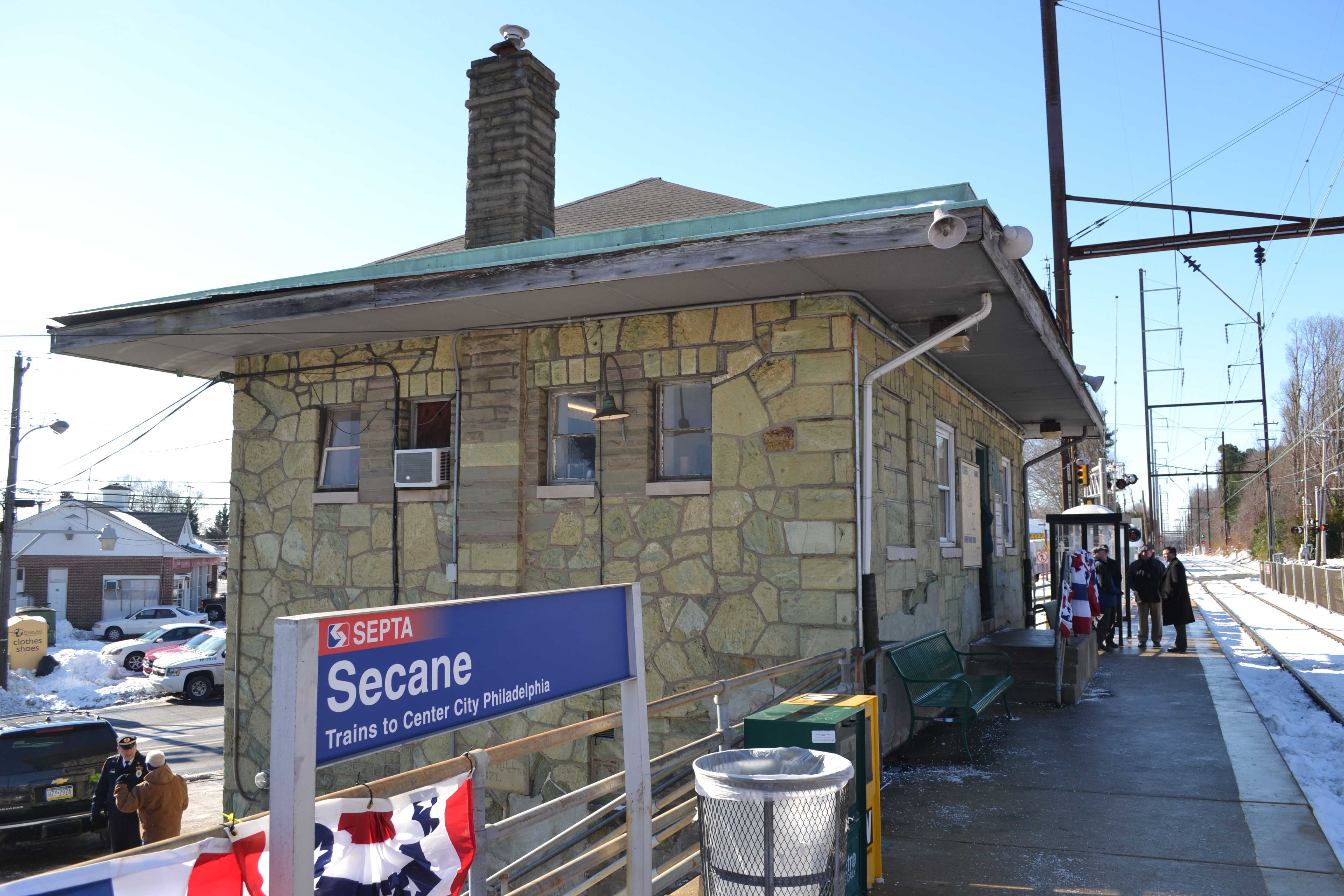 Secane Station will receive a $21 million overhaul beginning in 2015