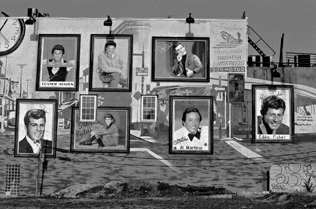 South Philly icons, Photo by David Swift Photography