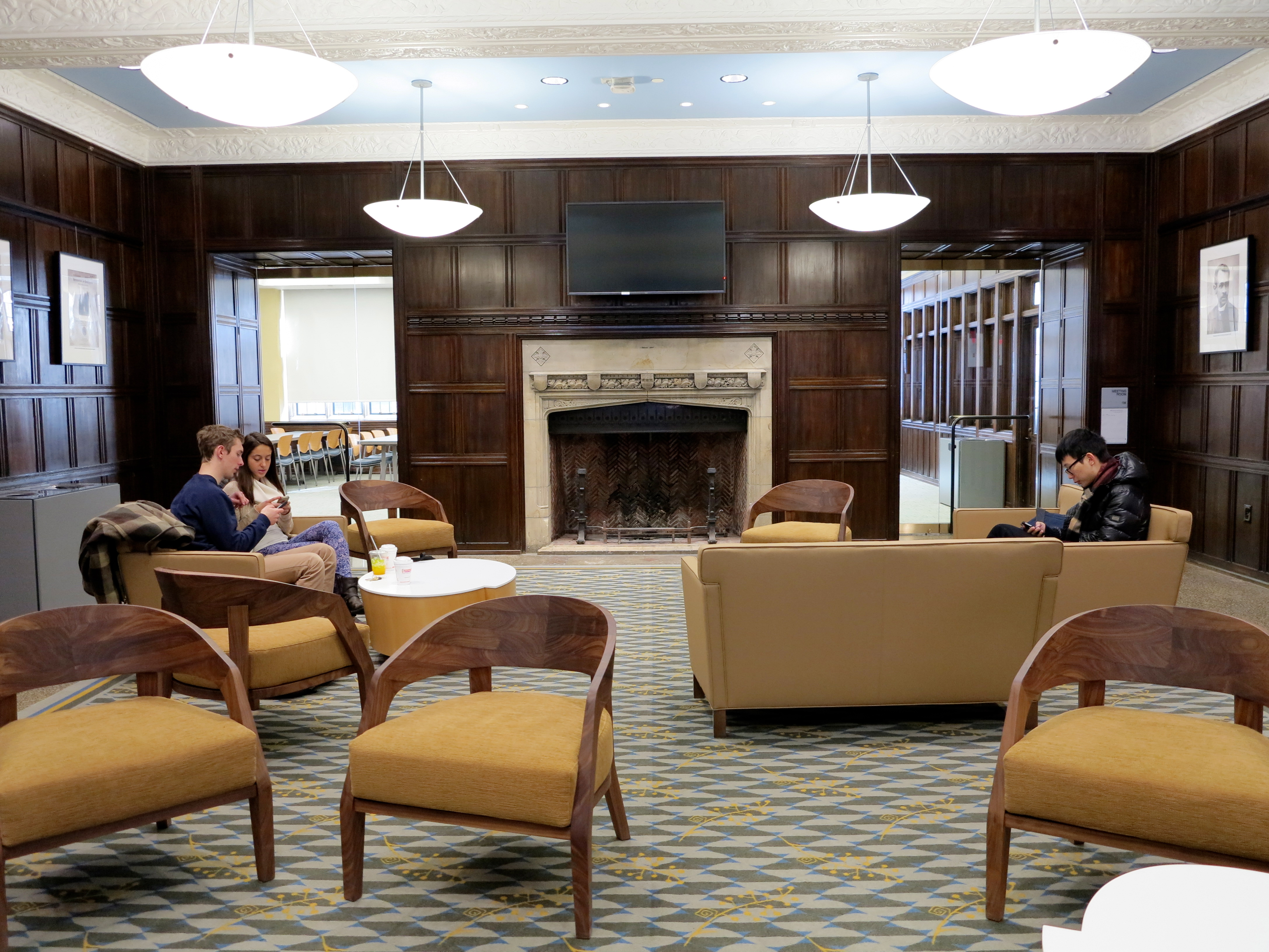 The ARCH's new first floor lounge
