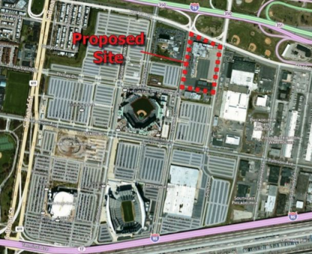 View The proposed Hollywood Casino site jpg