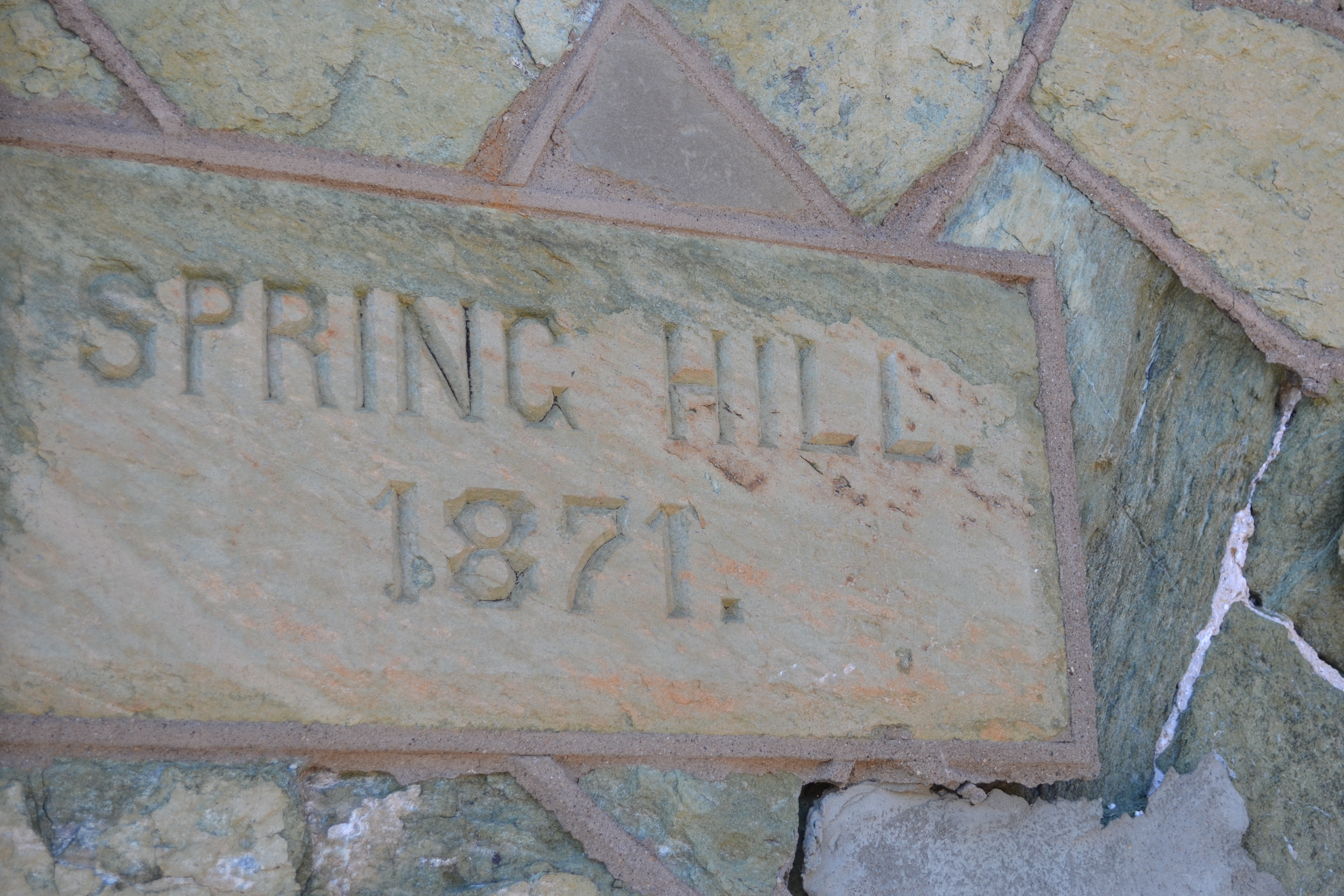 The station dates back to 1871 when it was known as Spring Hill Station