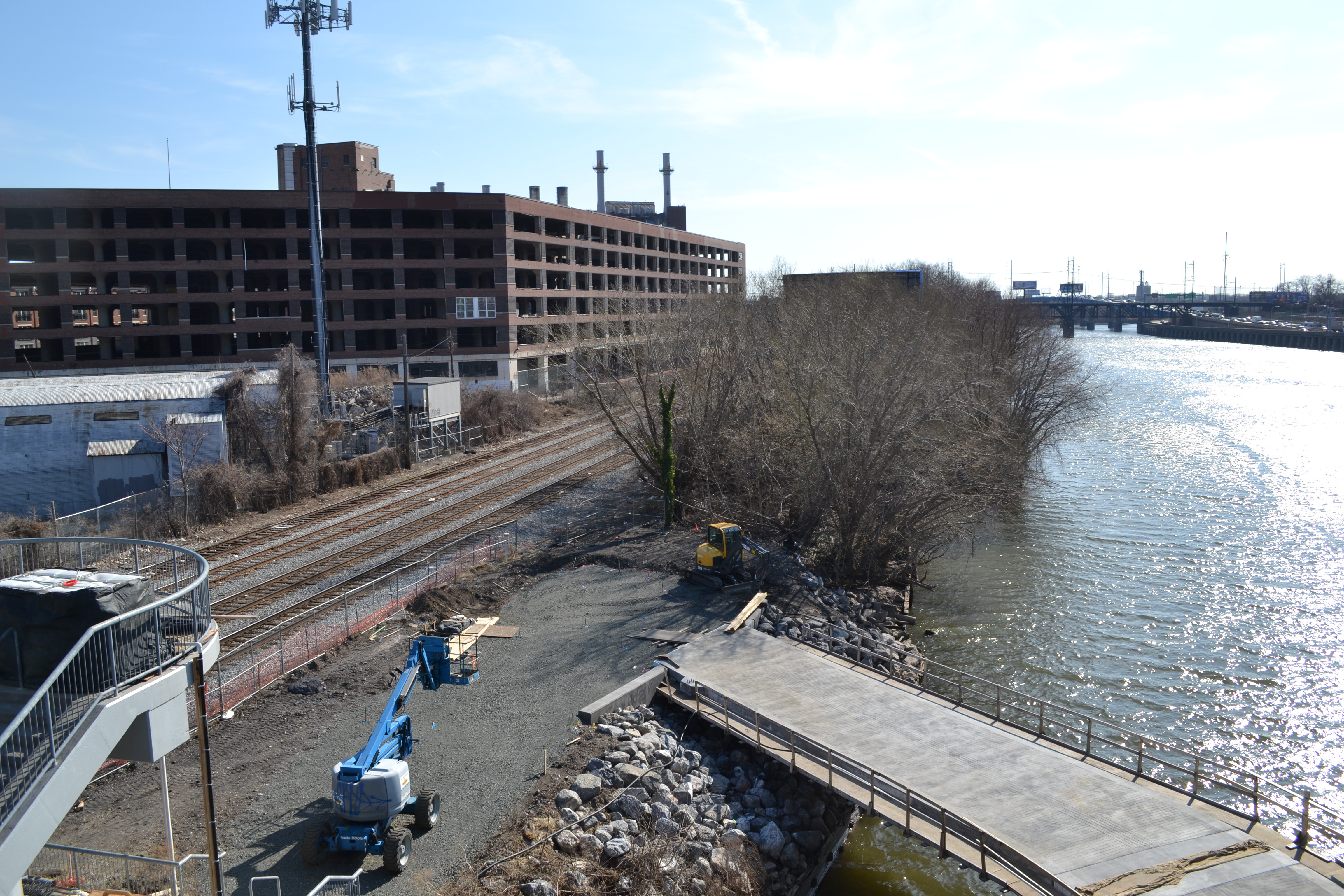 This fall the Schuylkill River Boardwalk will extend the trail as far south as the South Street Bridge