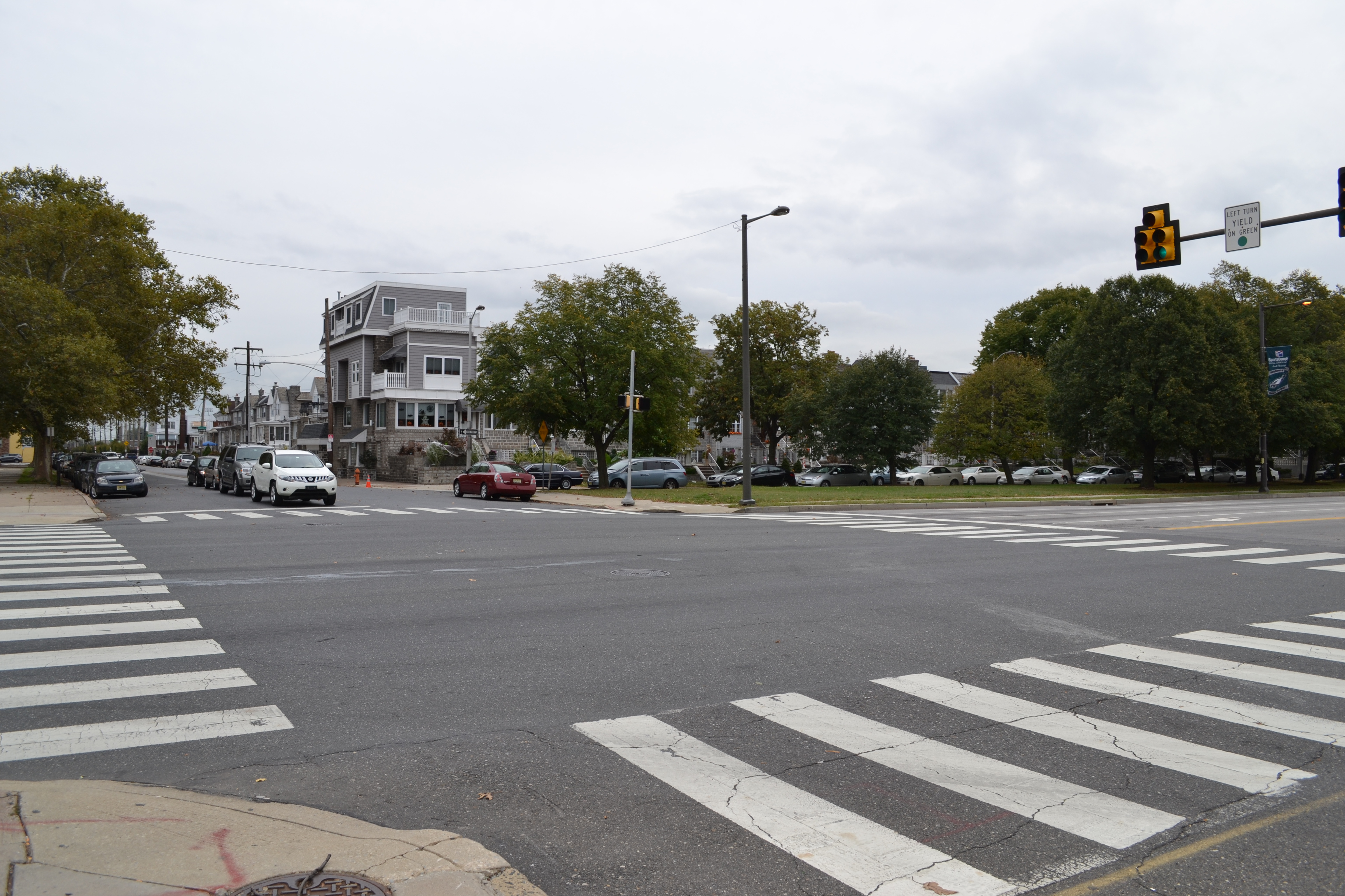 Users will have to cross six intersections, including Packer Avenue, the I-76 onramps, Curtin Street and Hartranft Street