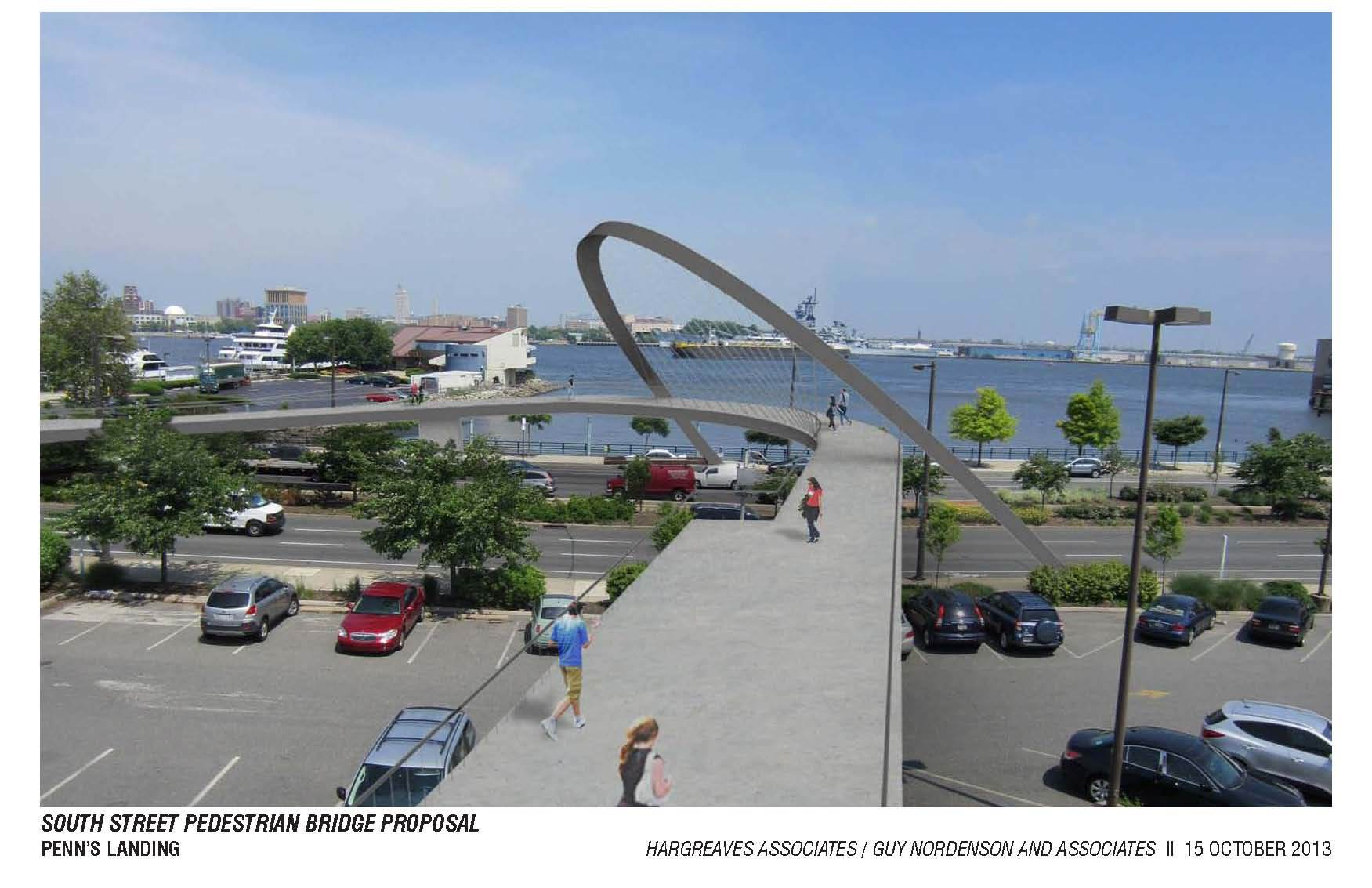 By Hargreaves Associates, image courtesy Delaware River Waterfront Corporation.