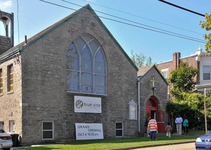 True Vine Church at 4610 Devereaux Ave. in Wissinoming. Photo by Bill Achuff.