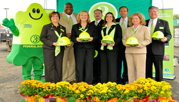 From left: Elizabeth Kaspern, Tyrell Wilkins, Rose McMenamin, Steven Gregory, Carolyn Wright, Wayne Bishop, Dana Dobson, Kent Lufkin.