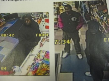 Police have released this footage of Persons of Interest in an April 9 murder.