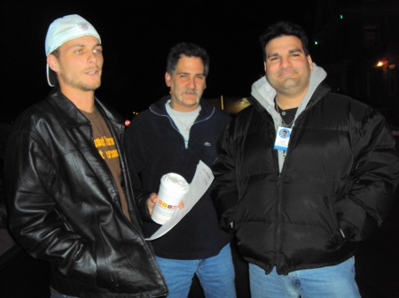 Mike Lowther, Gary Spenillo and Joe Nicoletti of Tacony Town Watch